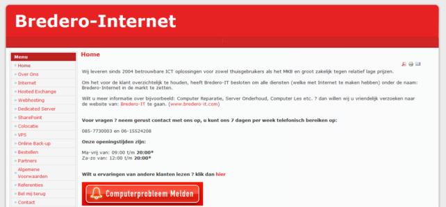 bredero-internet